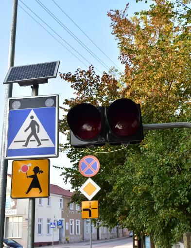Nowe sygnalizatory w Tucholi. Masz czerwone – przepuść straż!-7215