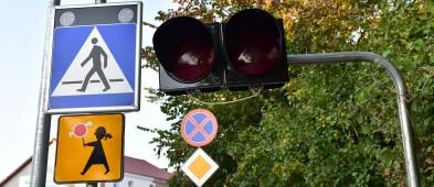 Nowe sygnalizatory w Tucholi. Masz czerwone? Przepuść straż!-7215
