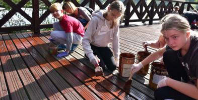 Pozytywna akcja w Kęsowie: Pomosty odnowione ZDJĘCIA-7218
