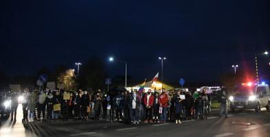 Drugi protest w Tucholi RELACJA I GALERIA ZDJĘĆ-7269