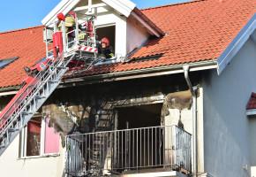 Znamy ustalenia prokuratury:  Pożar na osiedlu od niedopałka papierosa-7297