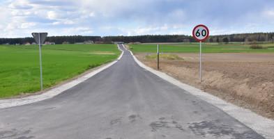 Za niespełna milion złotych: I etap drogi Lubiewo-Bysławek zakończony-7983