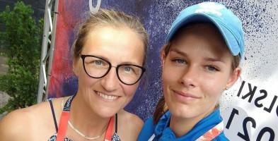 Karolina Urbam, lekkoatletka z gm. Cekcyn: Uśmiech, choć przez łzy-8621
