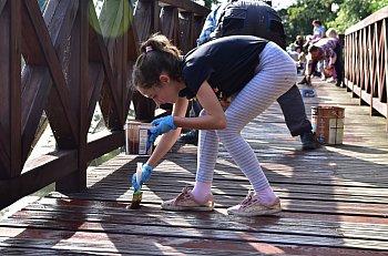 Pozytywna akcja nad jeziorem w Kęsowie-2418