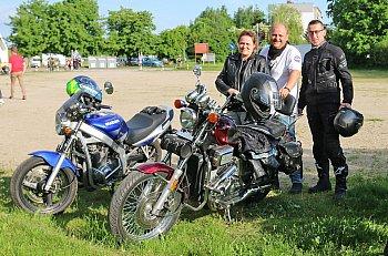 Spotkanie motocyklistów przy OSiR-ze-2475