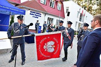 Sztandar dla Ośrodka Szkolenia Służby Więzienne w Suchej-2539